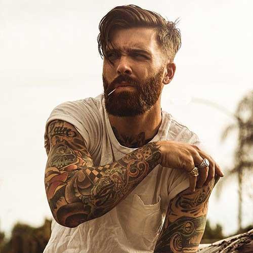 medium-hair-undercut-hairstyle-with-beard