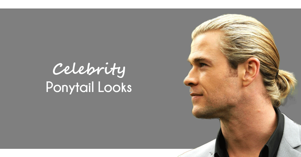 Celebrity Hairstyles men - Ponytail haircut