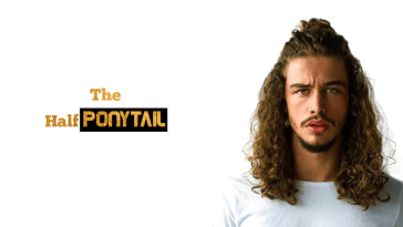 Half Ponytail Hairstyles For Men