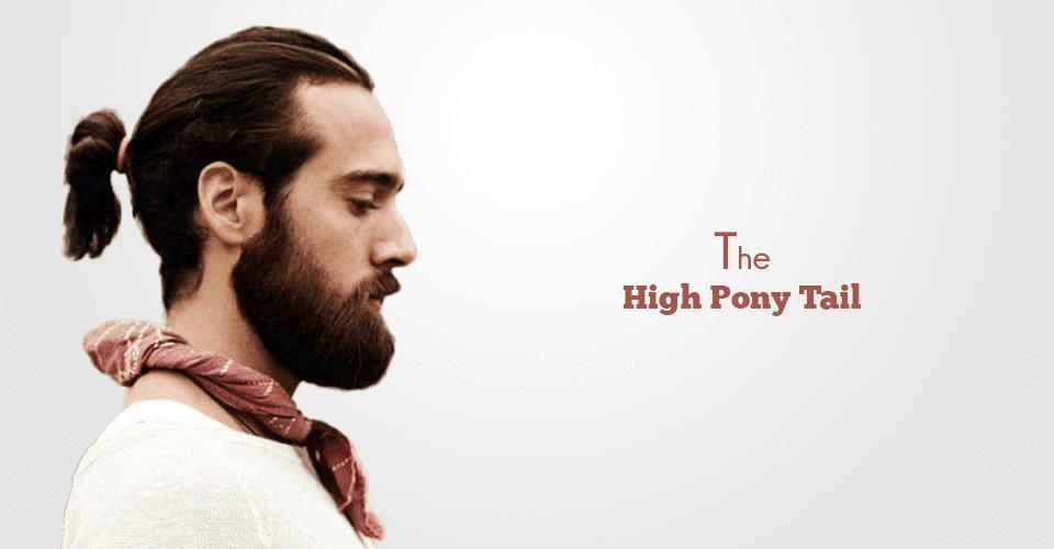 High Ponytail for men