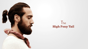 High Ponytail for men