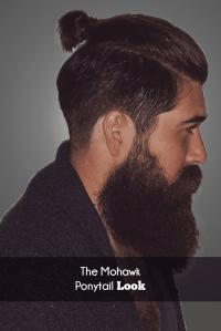 Mohawk Ponytail images men
