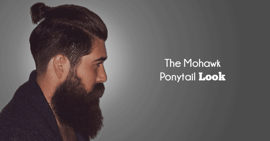 Mohawk Ponytail Hairstyle Images Pictures For Men To Try