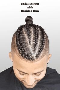 fade braid styles