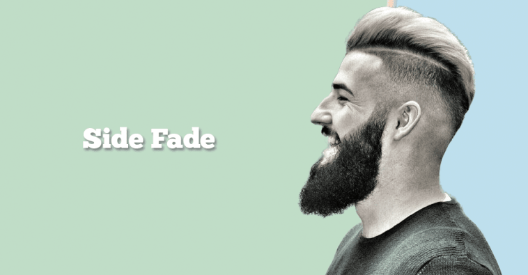 side fade haircut men