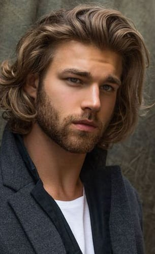 20 Sexy Looks For Men – Long Hairstyles.