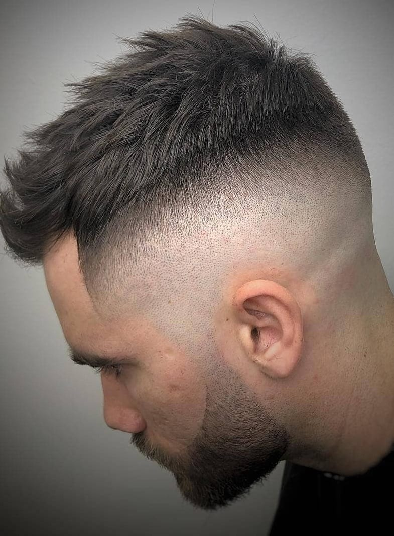 Back Fade Hairstyle For Men In 2019