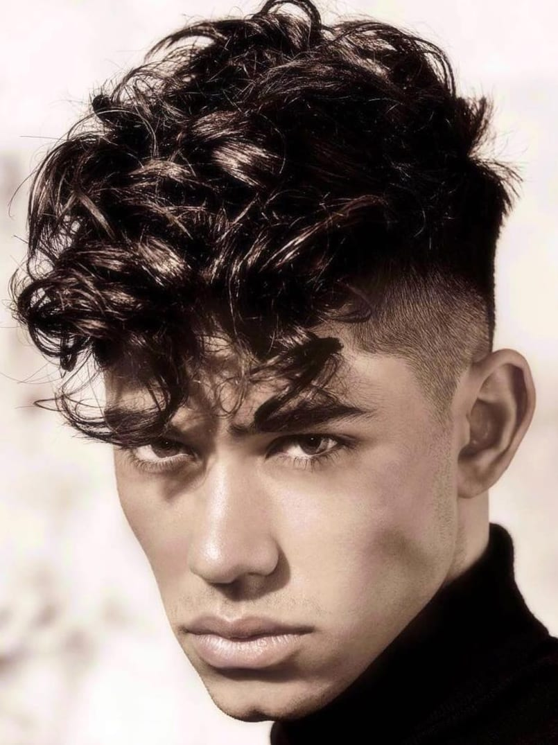 Curls And Fade Haircut Combinations For Men To Try Out This Summer.