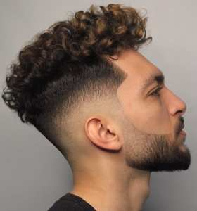 Curls And Fade Haircut Combinations For Men To Try Out
