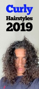Curly Hairstyle for men 2019!