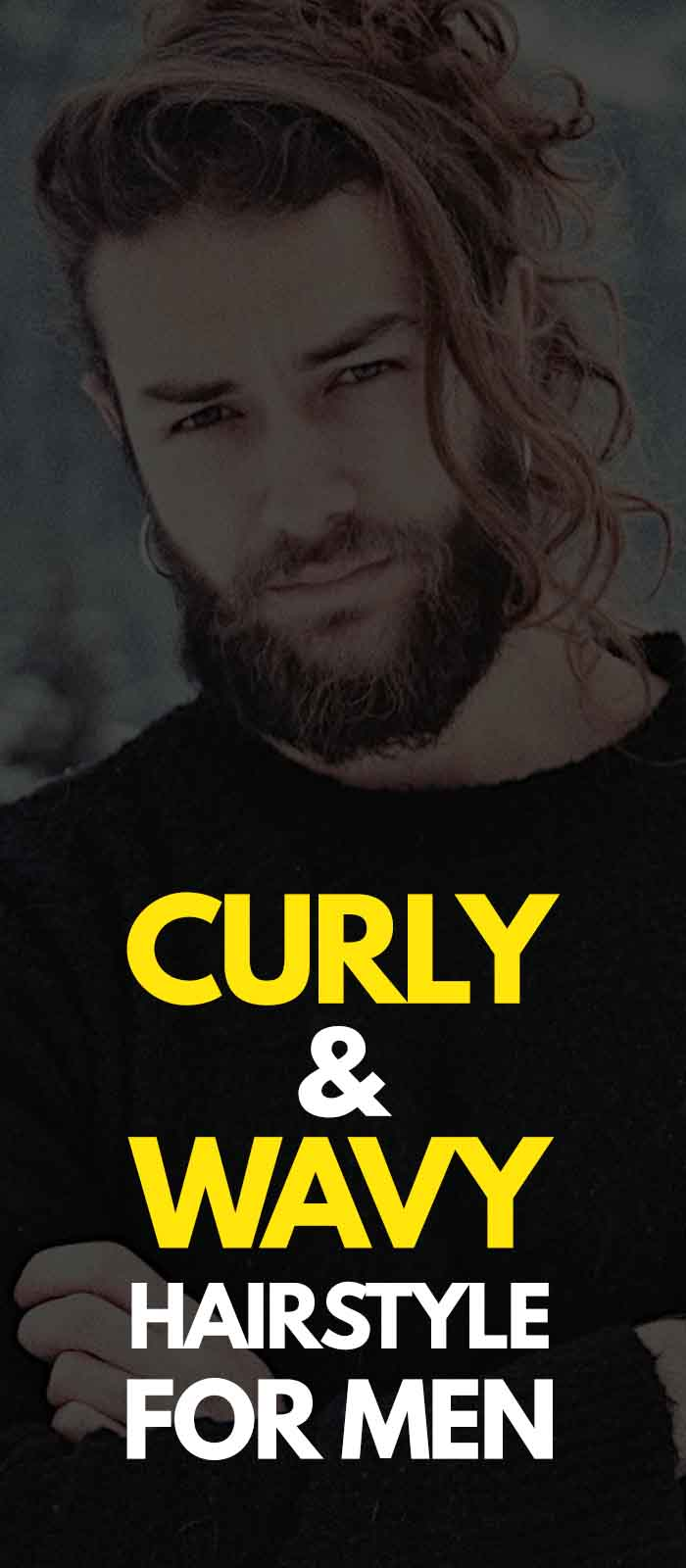 Curly, Wavy And Straight Haircut For Men 2019