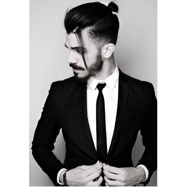 Faded-Top-Knot