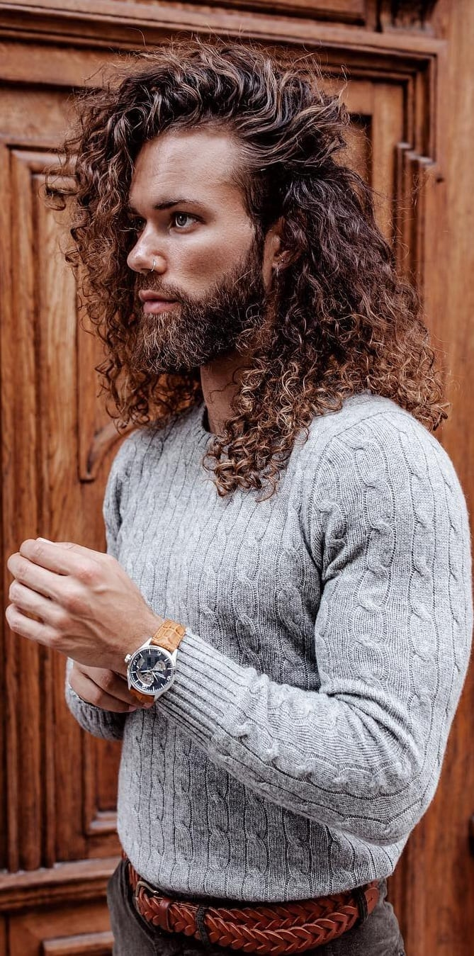 27 Best Long Hairstyles For Men - It gives men a rugged and sexy look