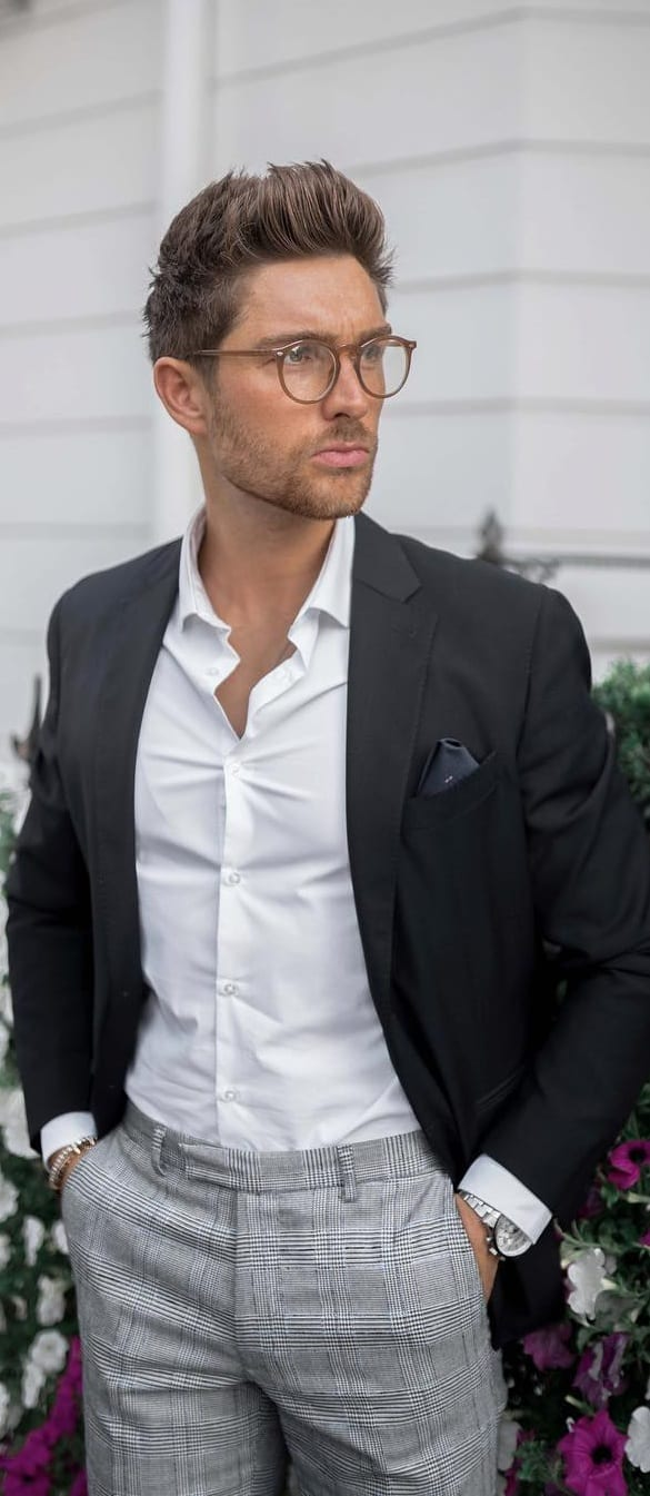Hairstyle Style For Classy & Sophisticated Men