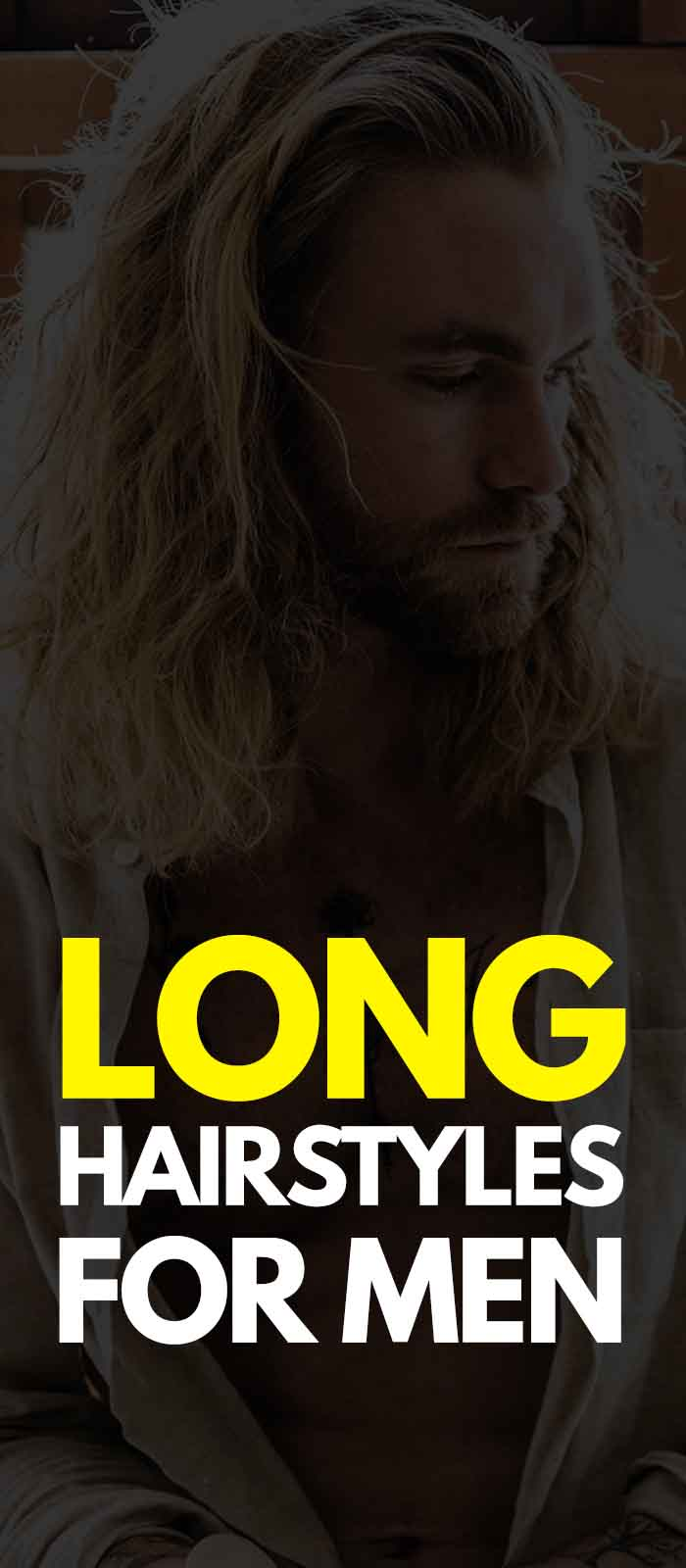 Long Hairstyle For Men!