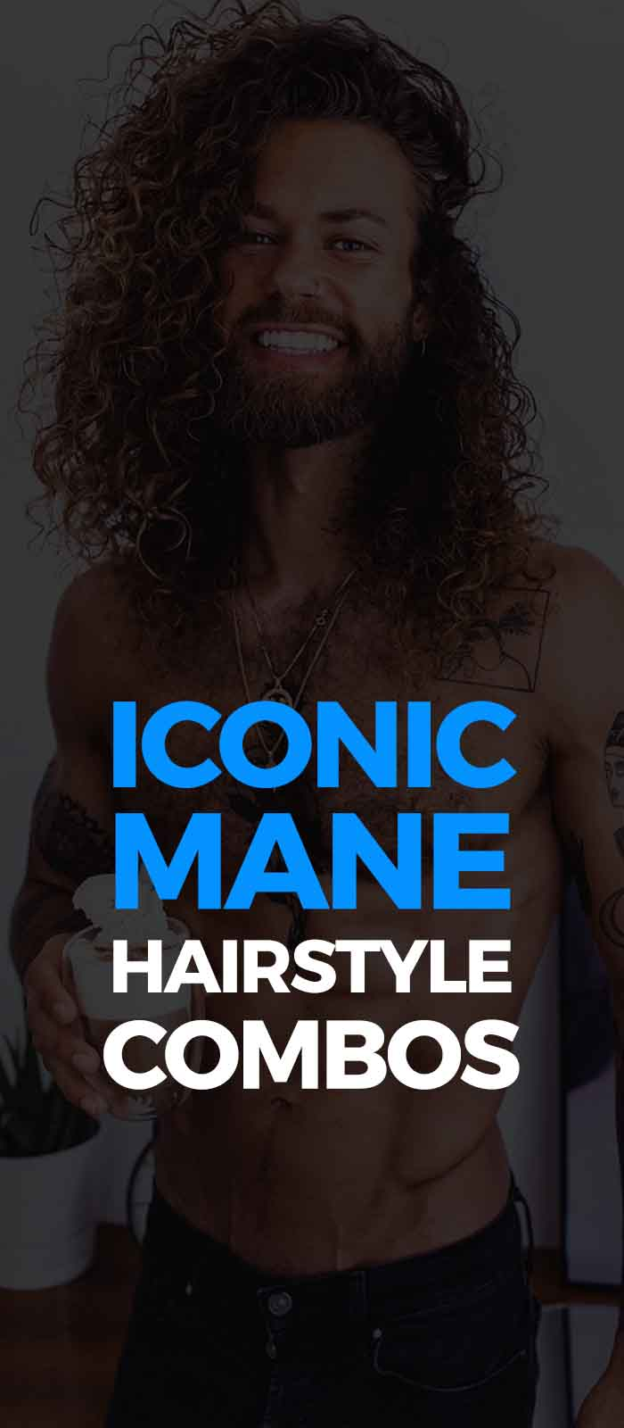 Mane Hairstyle For Men!