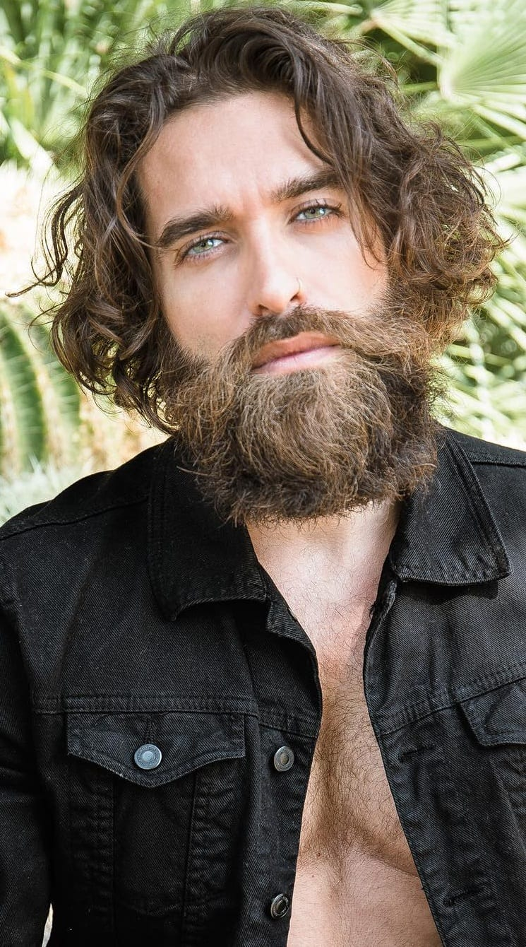 Mane Hairstyle Hipster Look for Men