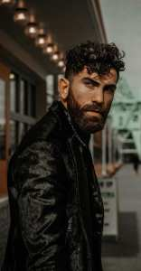 Mens Curly Hairstyle for 2019
