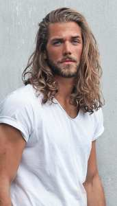 Open Hair Mane Hairstyle for Men