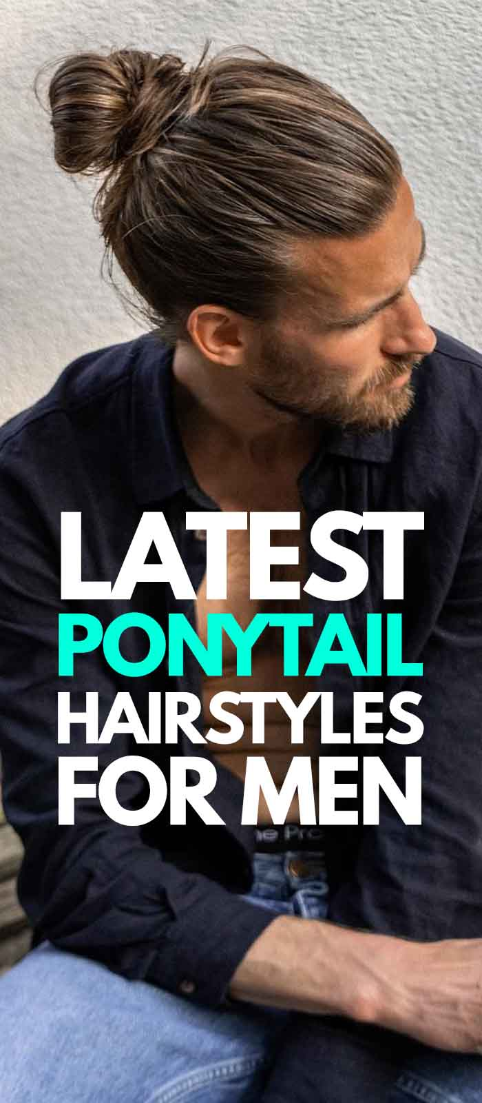Ponytail Haircurt For Men 2019