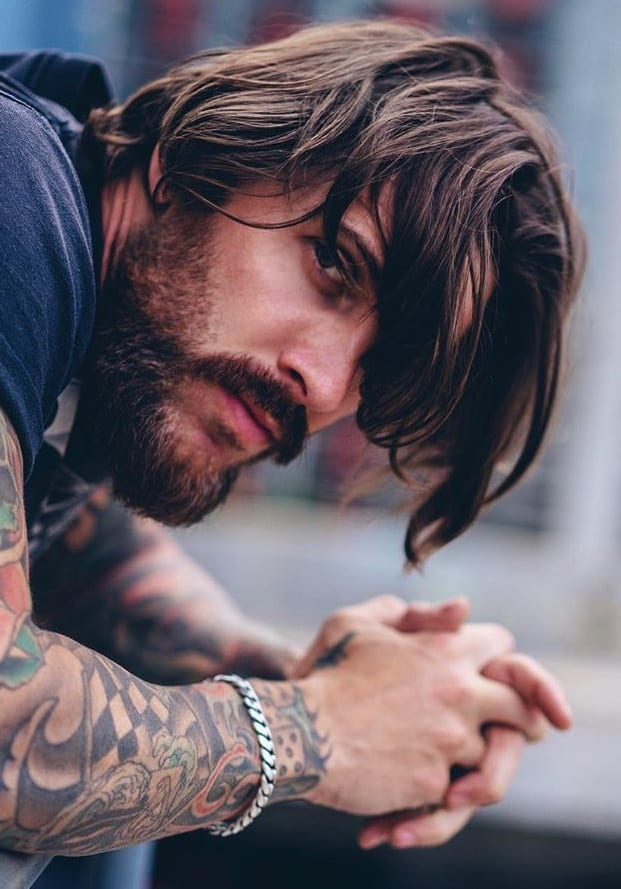 Sexy Looks For Men – Long Hairstyles