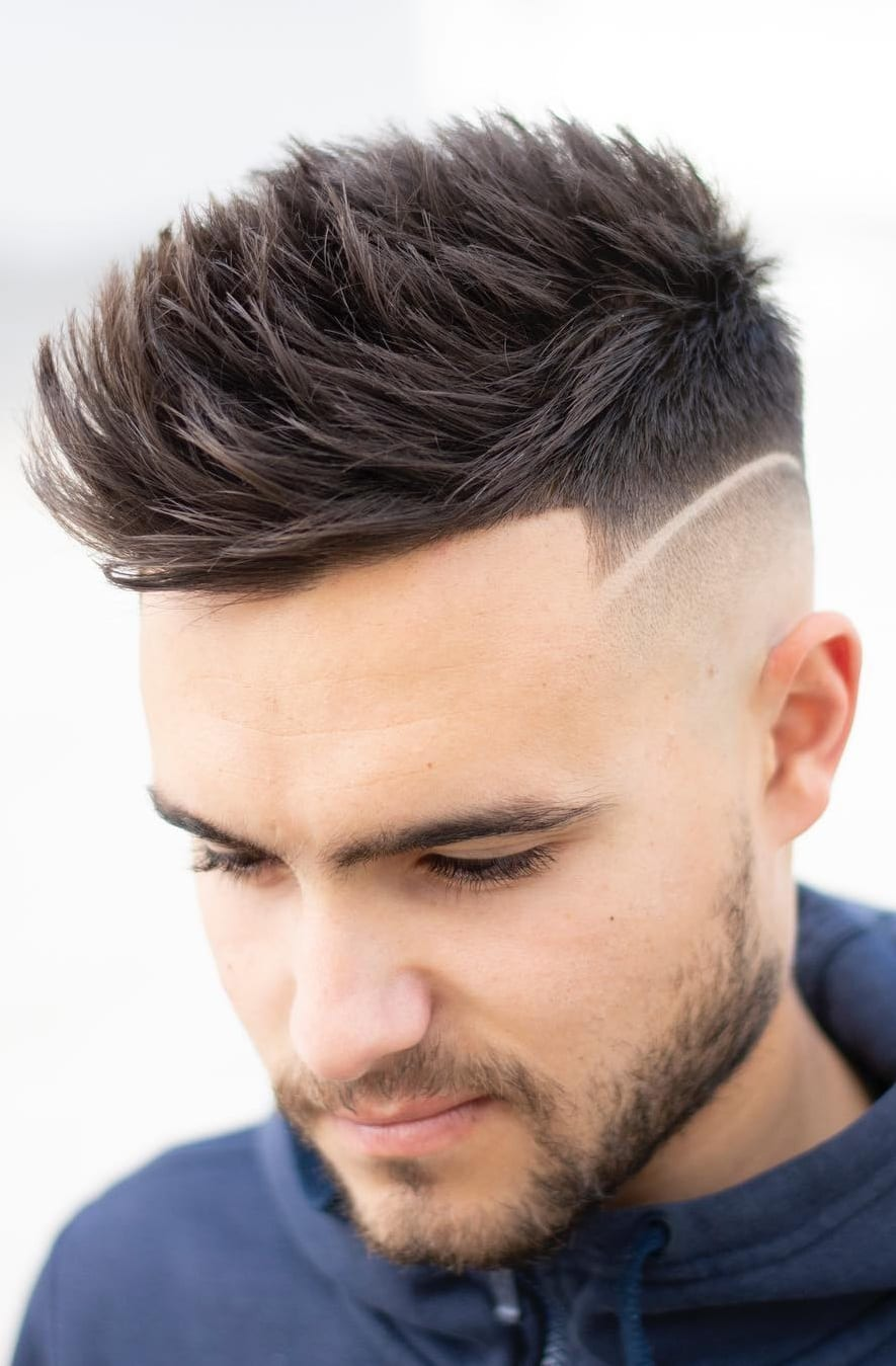 Short Spikes Hairstyle For Men.