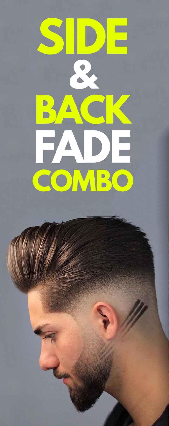 Side & Back Fade Combo.