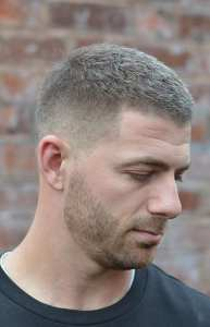 Side & Back Fade Haircut For Men