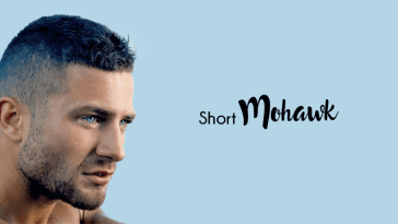 Trendy short mohawk