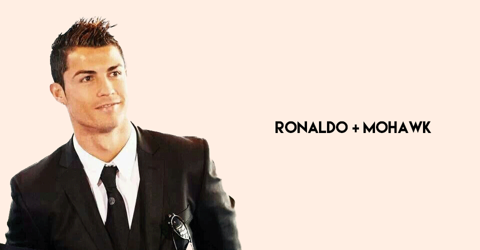 best of ronaldo's mohawk looks