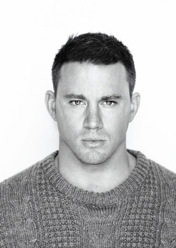 channing tatum short hairstyle