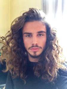 curly mane