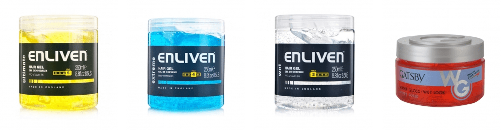 enliven hair gel