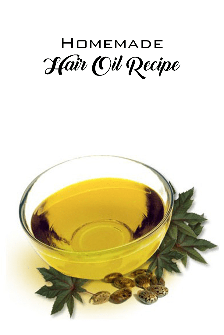 pictures of hair oil recipe