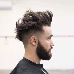 pictures of popular mohawk haircuts with undercut and fade