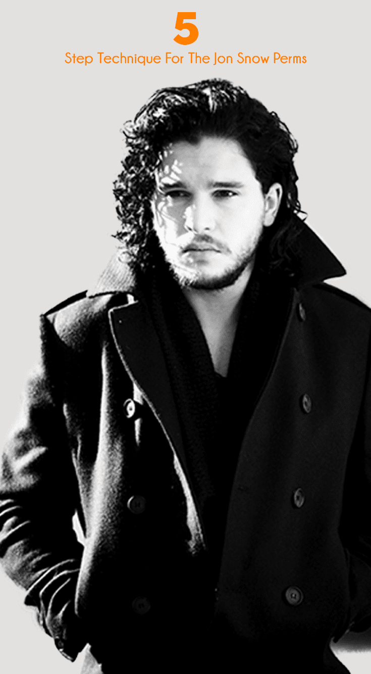 pictures of trendy jon snow perms