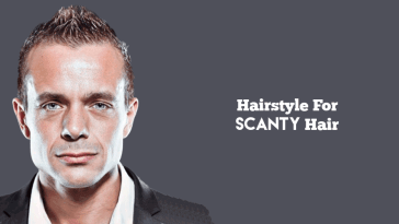 popular Mohawk hairstyle for scanty hair