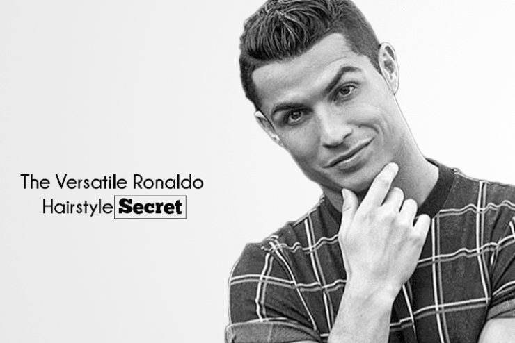 popular secrets of ronaldo's hairstyle
