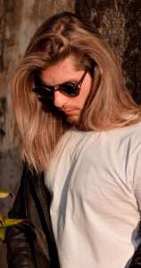 Long Straight Hair look for Men