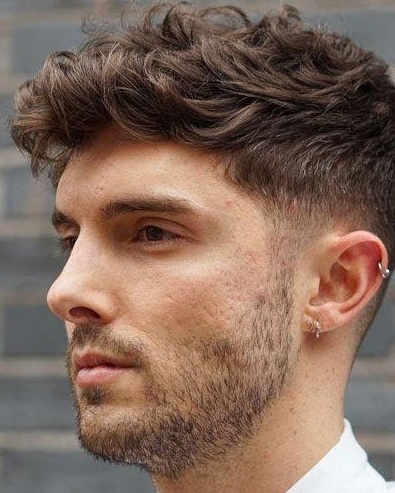 10 Curly Hairstyles and Beard Combos for men