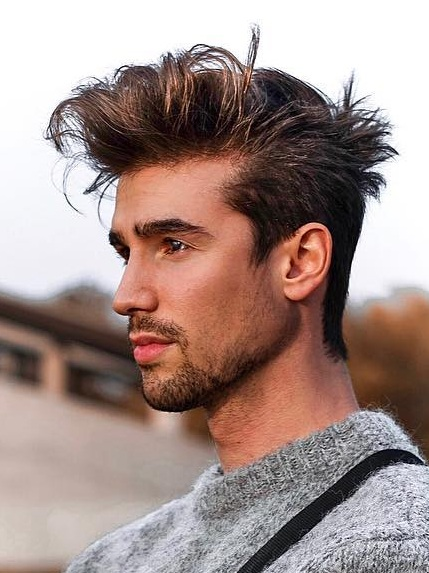 Cool Messy Hairstyles for Men