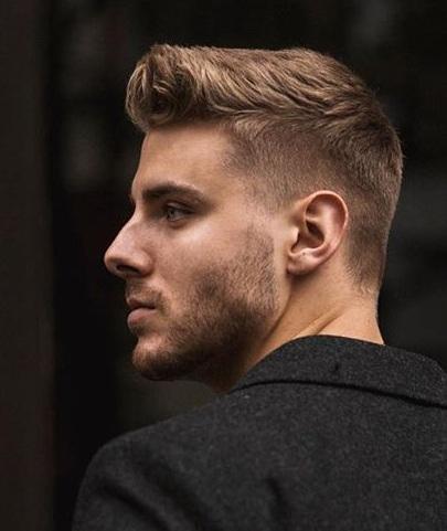 Mens Trendy Fade Haircut