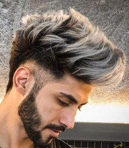 Textured Pompadour Hairstyles for Men