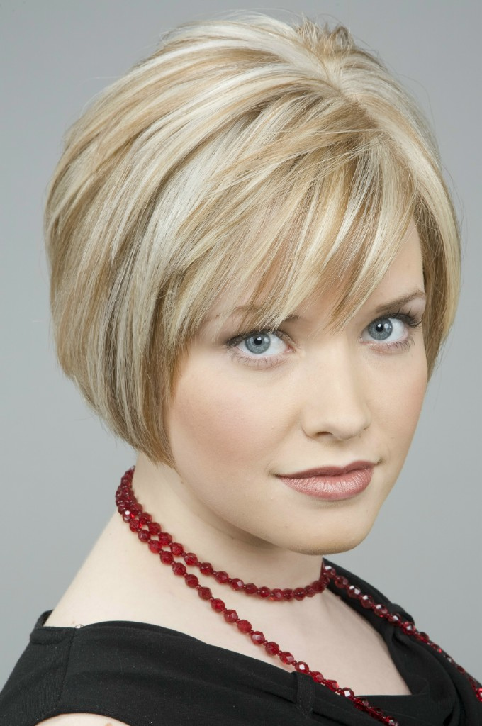 Blonde Bob Haircut With Fringe Hairstyle Archives