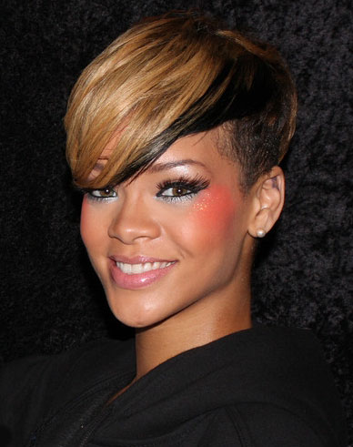 Coloured Short Hairstyle for Women