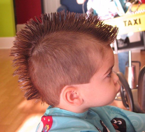 Short Mohawk Hairstyle for Boys