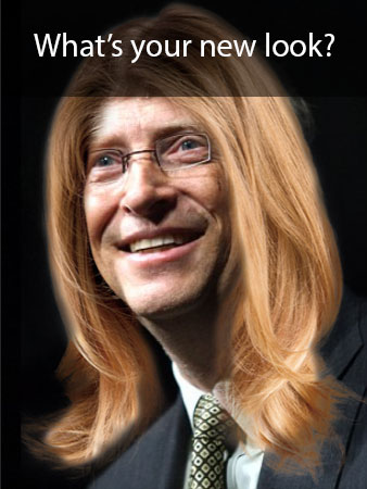 Bill Gates Hairstyle Tester