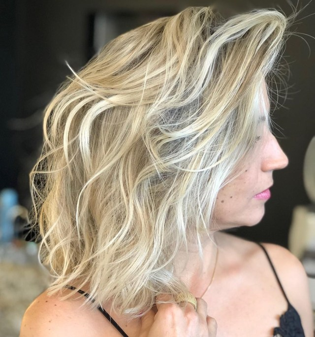 must-try medium length layered haircuts for 2019