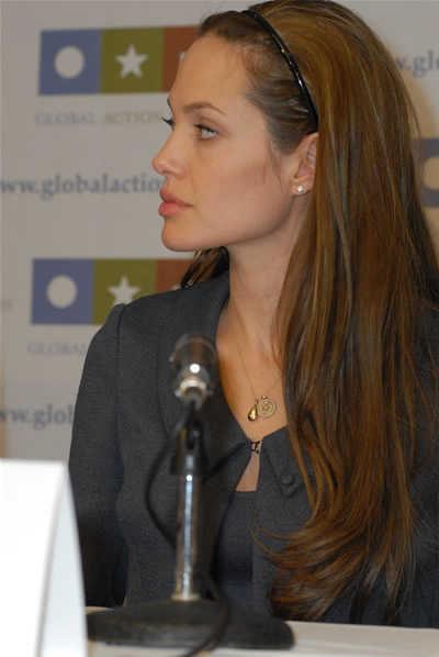 Angelina Jolie Hairstyle