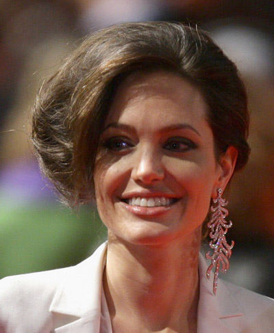 Angelina Jolie Short Haircut